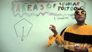 Geometry – Area Of Regular Polygons (HD)