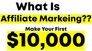What Is Affiliate Marketing And How Does It Work? (FOR BEGINNERS!)