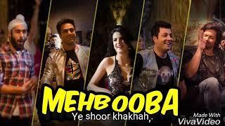 Mehbooba || song lyrics || Fukrey Return || Own made - YouTube
