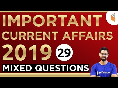 1:00 PM - RRB Group D 2019 | Current Affairs by Bhunesh Sir | Mix Questions (29)