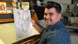 How To Draw Rapunzel & Pascal from Tangled: The Series   Quick Draw   Disney LIVE