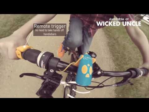 Youtube Video for Red Mini Hornit - For Bikes & Scooters