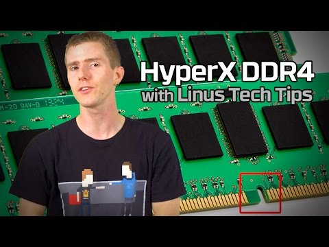DDR4 vs DDR3 with Linus