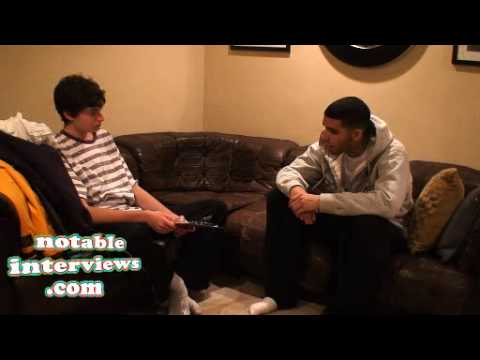 Drake Interview BEFORE HE BECAME FAMOUS!! continued... again...
