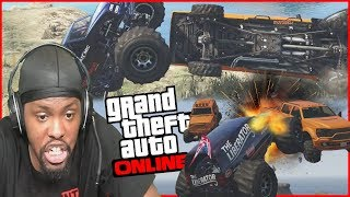 Hilarious Car Sumo! Who Will Be The LAST Team Standing! (GTA 5 Funny Moments)