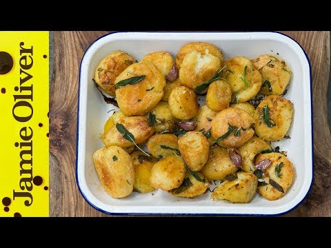 3 Delicious Recipes of Roasted Potatoes by Jamie Oliver