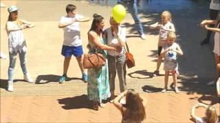 Rachel Plattern - Stand By You Flashmob for Cancer