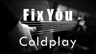 Fix You   Coldplay ( Acoustic Karaoke )