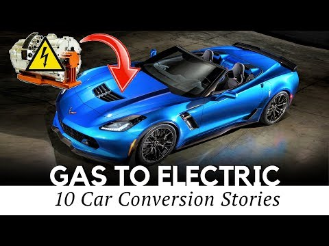 Top 10 Gas to Electric Car Conversion Projects (Engine to Motor Swaps)