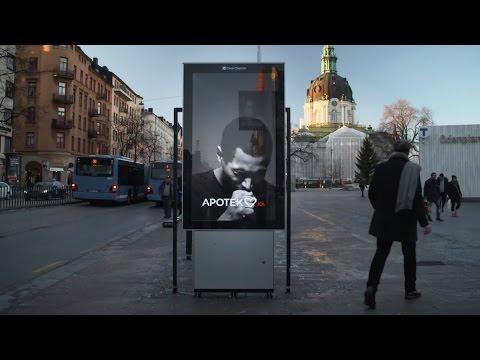 Schweden: Raucheralarm - Das hustende Werbeschild