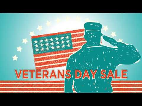 Veterans Day Sale - 2018
