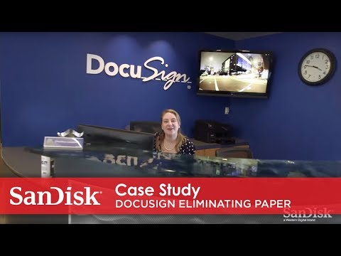 SanDisk case study: docusign uses fusion iomemory™ pcie application accelerators