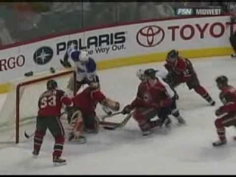 Derek Boogaard vs. D.J. King