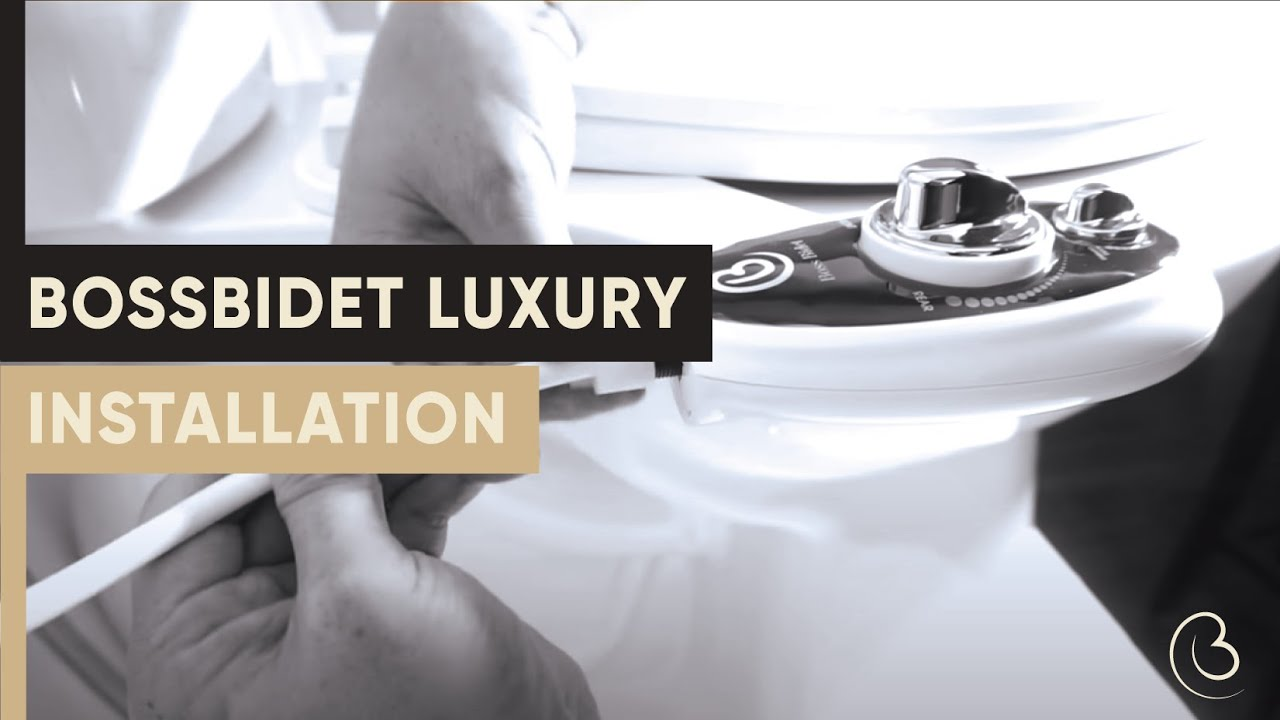 Boss Bidet Luxury (Black) video thumbnail