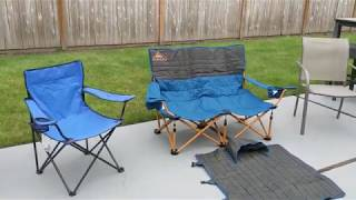 Dad Review Of Kelty Low Loveseat