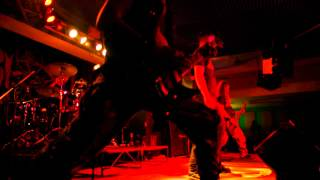 """Video BLOODY OBSESSION : """"Steel Messenger of War/Death Sentence""""-live"""