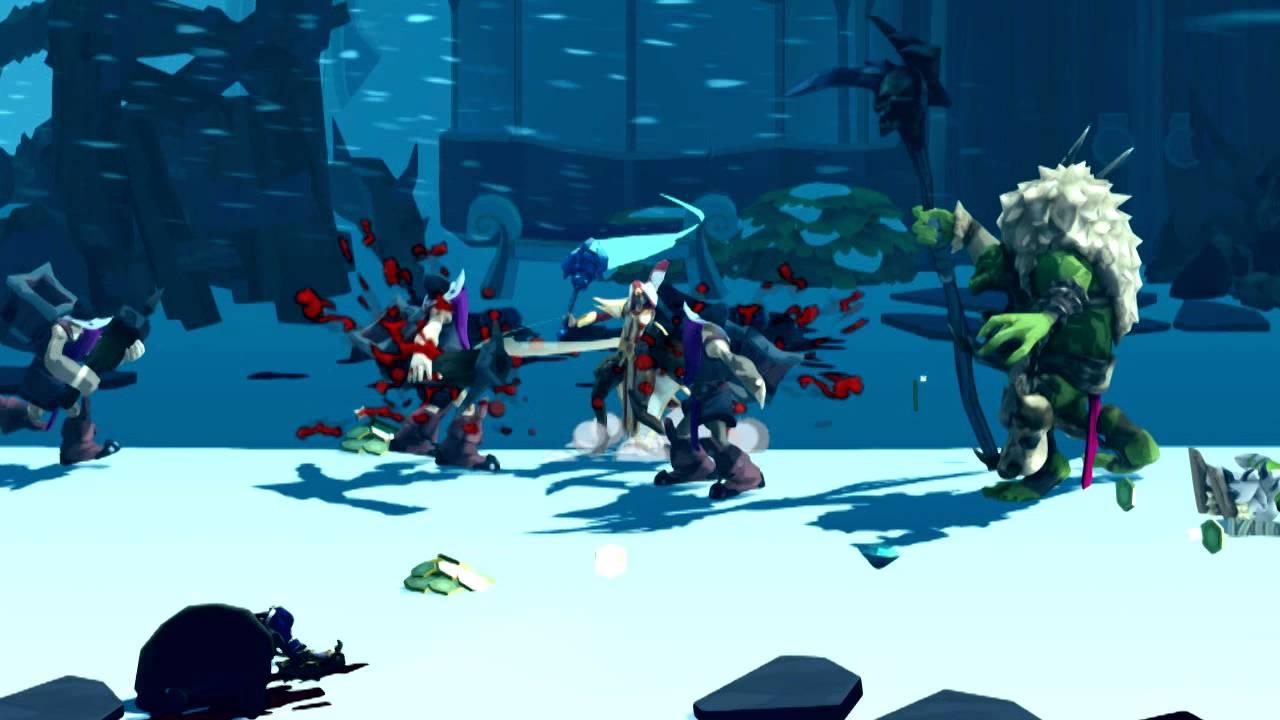 Sacred Citadel: Side-Scrolling Beat 'em Up Hits PSN April 16th