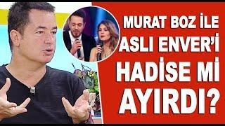 Acun Ilıcalı, Murat Boz ile Aslı Enver'i barıştırmayı düşünüyor mu? Hadise...