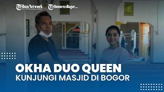 Sambut Ramadhan, Penyanyi Okha Duo Queen Kunjungi Masjid-masjid di Bogor sambil Berikan Bantuan