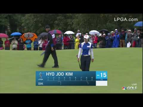 Hyo Joo Kim Final Round Highlights at the 2019 Evian Championship