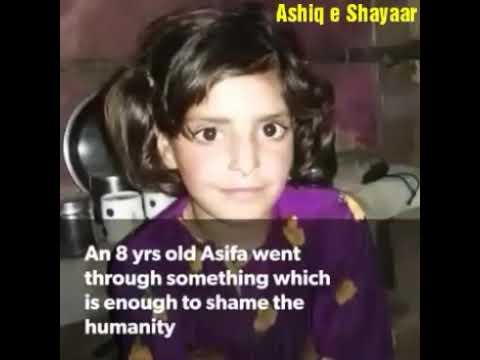 Asifa Gang rape.Real video Total history details