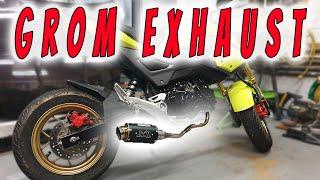 zoom exhaust honda grom - मुफ्त ऑनलाइन वीडियो