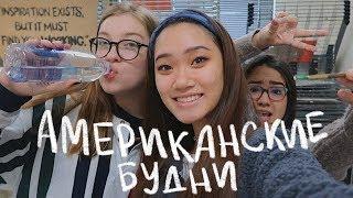 будни американских школьников (vlog 52)   Polina Sladkova