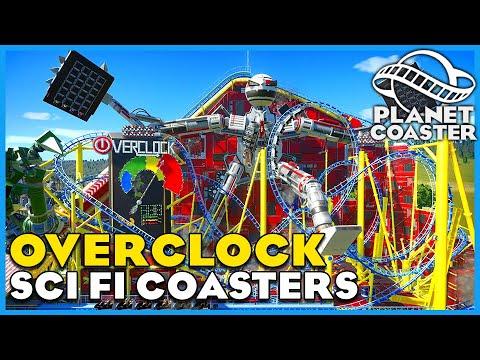 Overclock, Astra Raid & Toxic Strike! Planet Coaster: Coaster Spotlight 711