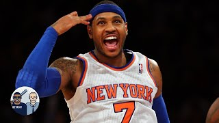 Carmelo Anthony hopes the Knicks retire his number | Jalen & Jacoby