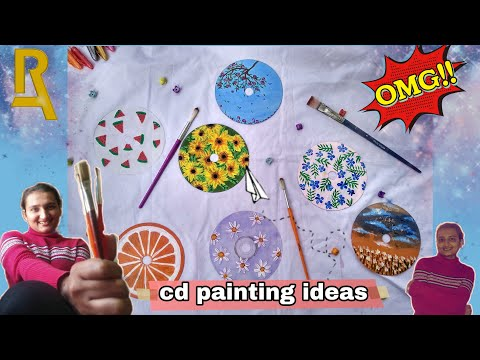CD Painting for beginners