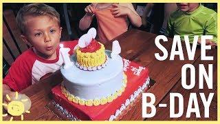 BUDGET | Dont Overspend On Kids Birthdays!