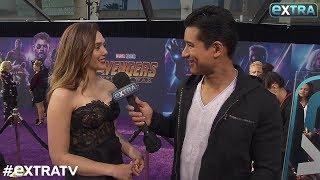 'Avengers: Infinity War' Star Elizabeth Olsen Talks Scarlet Witch Falling in Love with Vision