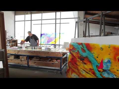 Glasmalerei Stift Schlierbach - privater Bereich / Bauverglasung