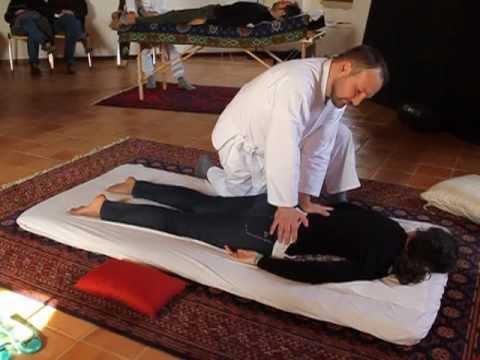 Tecnica di cura di dolori in un dorso