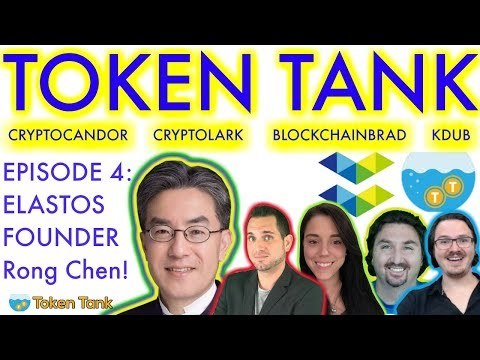ELASTOS EXCLUSIVE | Token Tank Presents: ELASTOS  | Decentralized Internet | Rong Chen | $ELA News