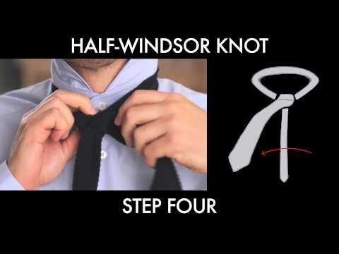 How to tie a half windsor knot ccuart Images