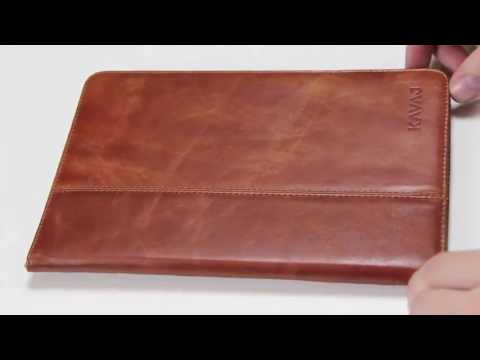 "[Review] iPad mini Tasche ""Berlin"" cognac by www.kavaj.de [FULL HD]"