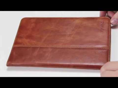 """[Review] iPad mini Tasche """"Berlin"""" cognac by www.kavaj.de [FULL HD]"""