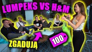 100 ZŁ LUMPEKS VS H&M *EKIPA ZGADUJE*