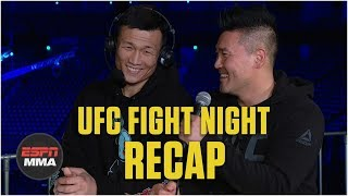 Korean Zombie targeting Alexander Volkanovski next | UFC Fight Night Post Show | ESPN MMA