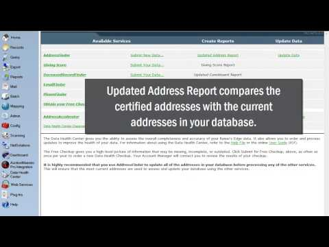 Blackbaud AddressFinder Download - YouTube