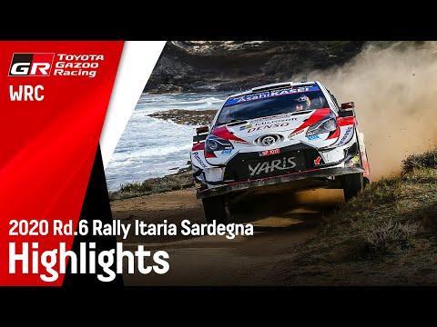WRC ラリー・イタリア ToyotaGazooRacingのハイライト動画