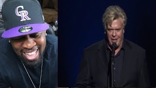 Ron White I sprained my fat roll, Tell Bin Ladin I said F@%k You -REACTION