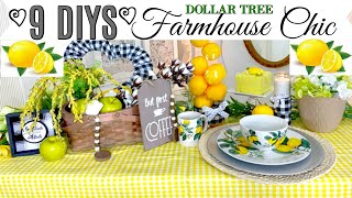 🍋9 DIY DOLLAR TREE DECOR CRAFTS FARMHOUSE CHIC SPRING🍋Home Sweet Home Ep.16 Olivias Romantic Home