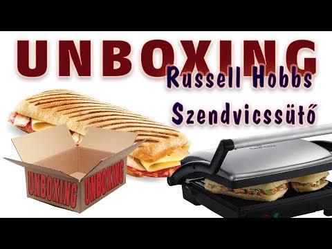 UNBOXING - Russell Hobbs 17888-56 3in1 Szendvicssütő
