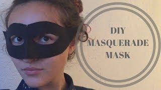 DIY | How To Make A Masquerade Mask