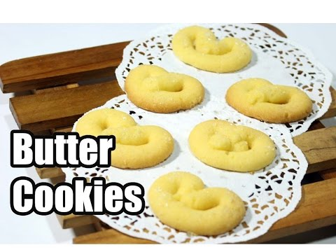Video Resep kue kering butter cookies lezat