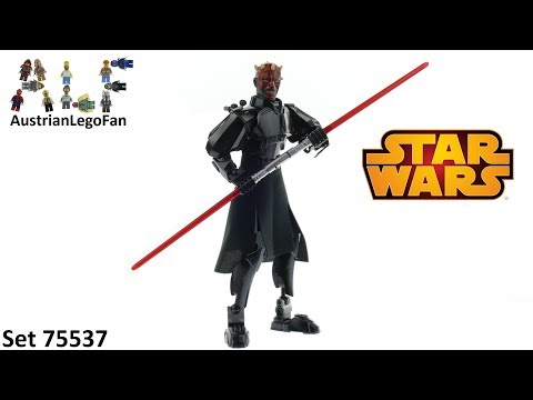 Vidéo LEGO Star Wars 75537 : Dark Maul (Buildable Figures)