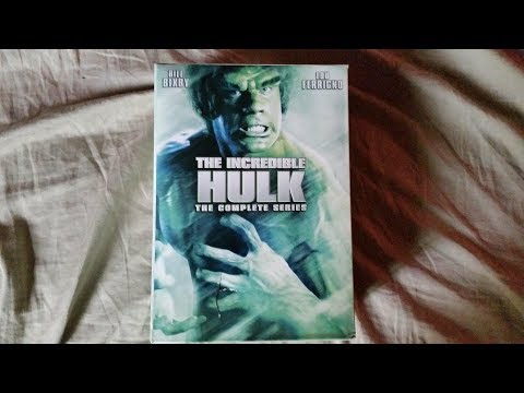 The Incredible Hulk Complete Series Dvd Unboxing