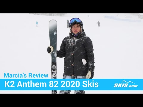 Video: K2 Anthem 82 Skis 2020 14 50